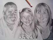 Pencil Portrait Drawing Artist. I work from your own photos