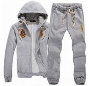 2013 polo tracksuits cotton sport hoodie with pants