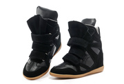 Isabel Marant Sneakers High-top Suede shoes Womens fashion boots