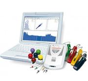 Cardiograph,  doppler,  encephalograph,  miograph,  rheograph,  Aberdeen