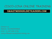 CISCO-CCNA ONLINE TRAINING | CISCO-CCNA Online Training in USA,  UK.