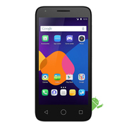 Alcatel Pixi 3 4.5 4GB Black (Silver-67148)