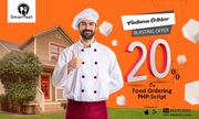 The 20 % offer from your food online-food delivery script