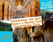 Day trip to Karla & Bhaja Caves Sightseeing Tour