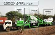 Portable Asphalt Mixing Plant - Atlas Industries