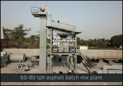 Advantages of mixing unit of Atlas asphalt batch plant